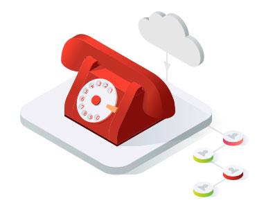 Garantált alközponti és telefonvonali szolgáltatások a felhőből
